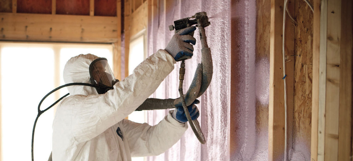 Spray Foam Home Insulation header image